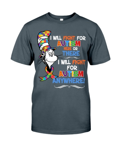 I will fight for Autism