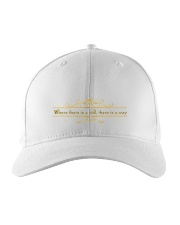 where there is a will Embroidered Hat thumbnail