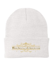 where there is a will Knit Beanie thumbnail