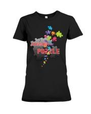 Puzzle Premium Fit Ladies Tee thumbnail