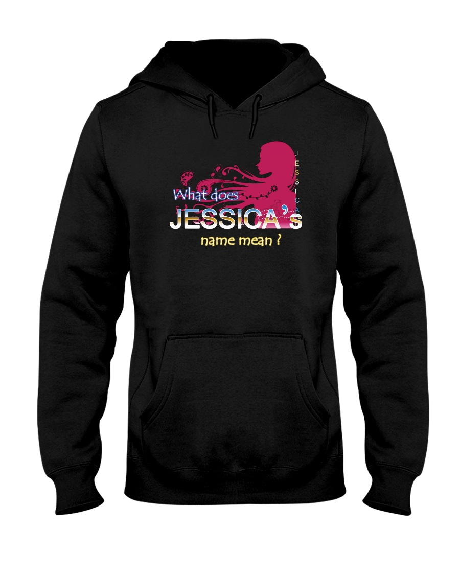 JESSICA NAME Hooded Sweatshirt
