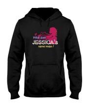 JESSICA NAME Hooded Sweatshirt front