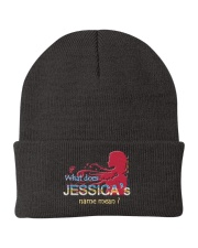 JESSICA NAME Knit Beanie thumbnail