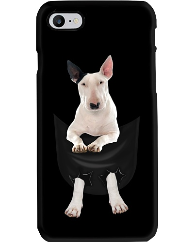 Bull Terrier in Pocket