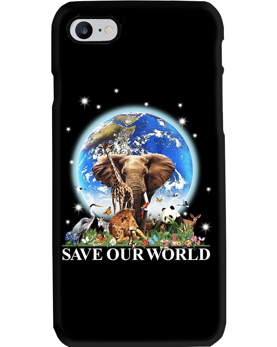 Save Our World Phone Case