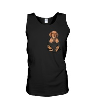 Dachshund in Pocket Unisex Tank thumbnail