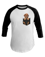 Dachshund in Pocket Baseball Tee thumbnail