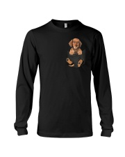 Dachshund in Pocket Long Sleeve Tee thumbnail