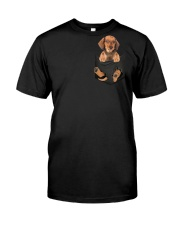 Dachshund in Pocket Premium Fit Mens Tee thumbnail