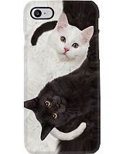 Cat Yin Yang Phone Case tile