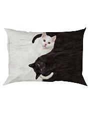 Cat Yin Yang Rectangular Pillowcase tile