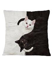 Cat Yin Yang Square Pillowcase tile