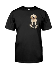 Golden in Pocket Classic T-Shirt front