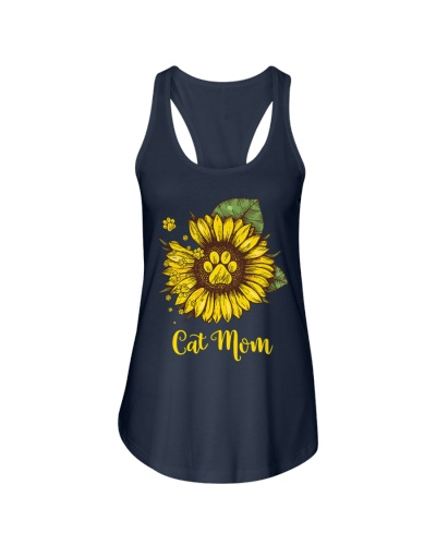 Cat Mom - Sunflower