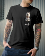 West Highland White Terrier in Pocket Classic T-Shirt lifestyle-mens-crewneck-front-6