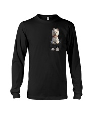 West Highland White Terrier in Pocket Long Sleeve Tee thumbnail