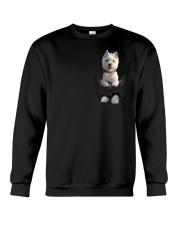 West Highland White Terrier in Pocket Crewneck Sweatshirt thumbnail