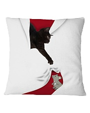 Cat and Mouse Square Pillowcase thumbnail