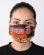 SIX MILLION DOLLATR MAN Cloth face mask aos-face-mask-lifestyle-01
