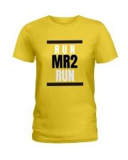 Toyota MR2 run Ladies T-Shirt front