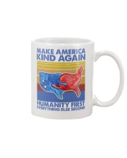 Make America Kind Again Humanity First Mug thumbnail