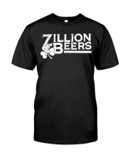 Zillion Beers Shamrock St Patrick's Day Shirt Classic T-Shirt thumbnail