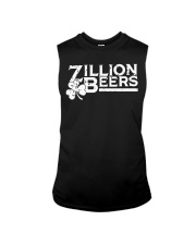 Zillion Beers Shamrock St Patrick's Day Shirt Sleeveless Tee thumbnail
