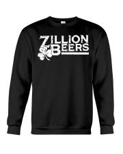 Zillion Beers Shamrock St Patrick's Day Shirt Crewneck Sweatshirt thumbnail