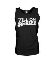 Zillion Beers Shamrock St Patrick's Day Shirt Unisex Tank thumbnail