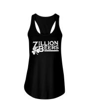 Zillion Beers Shamrock St Patrick's Day Shirt Ladies Flowy Tank thumbnail
