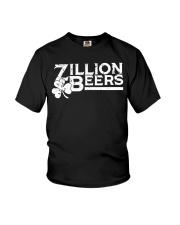 Zillion Beers Shamrock St Patrick's Day Shirt Youth T-Shirt thumbnail