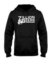 Zillion Beers Shamrock St Patrick's Day Shirt Hooded Sweatshirt thumbnail