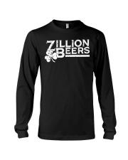 Zillion Beers Shamrock St Patrick's Day Shirt Long Sleeve Tee thumbnail