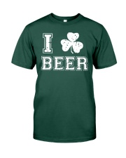 I Love Irish Beer T Shirt Premium Fit Mens Tee front