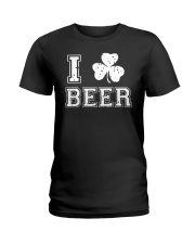 I Love Irish Beer T Shirt Ladies T-Shirt thumbnail