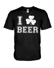 I Love Irish Beer T Shirt V-Neck T-Shirt thumbnail