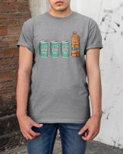 12 beers a blunt and a Fanta T Shirt Classic T-Shirt apparel-classic-tshirt-lifestyle-31