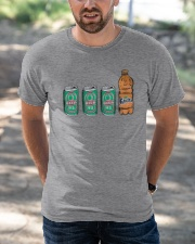 12 beers a blunt and a Fanta T Shirt Classic T-Shirt apparel-classic-tshirt-lifestyle-front-50