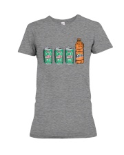 12 beers a blunt and a Fanta T Shirt Premium Fit Ladies Tee tile