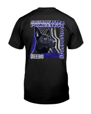 Deebo Strong Shirt Premium Fit Mens Tee back
