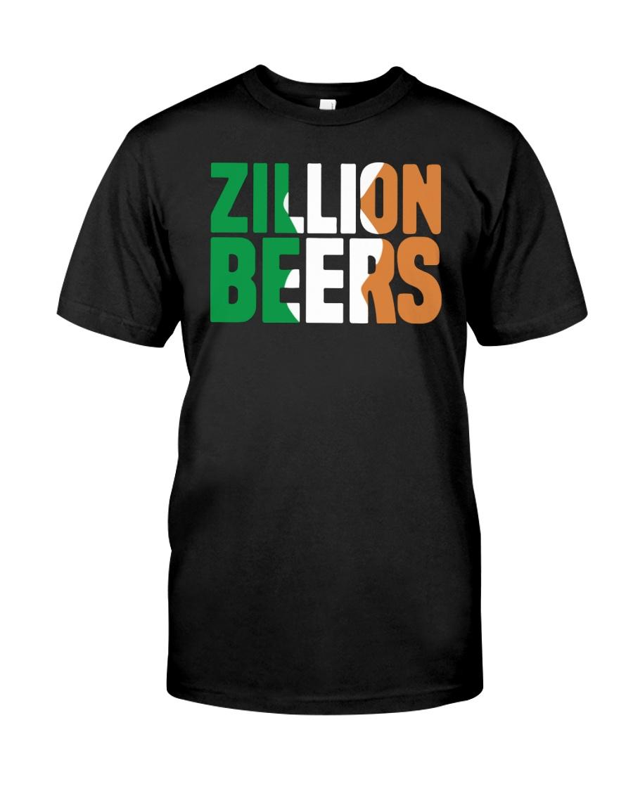 Zillion Beers Ireland T Shirt Premium Fit Mens Tee