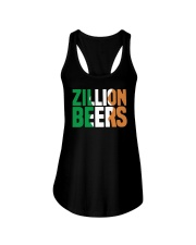Zillion Beers Ireland T Shirt Ladies Flowy Tank tile
