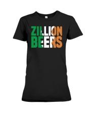 Zillion Beers Ireland T Shirt Premium Fit Ladies Tee thumbnail