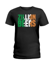 Zillion Beers Ireland T Shirt Ladies T-Shirt thumbnail