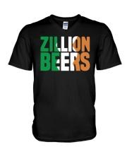 Zillion Beers Ireland T Shirt V-Neck T-Shirt thumbnail