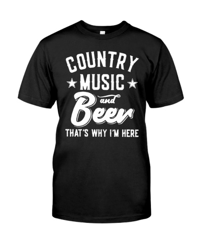 County Music and Beer Shirt