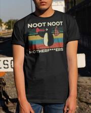Pingu Noot Noot Motherfucker T Shirt Classic T-Shirt apparel-classic-tshirt-lifestyle-29