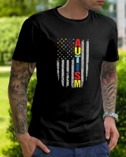 Autism Awareness Flag T Shirt Premium Fit Mens Tee lifestyle-mens-crewneck-front-7