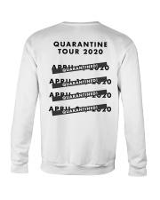 Quaranstream by Ryan Bock Shirt Crewneck Sweatshirt back