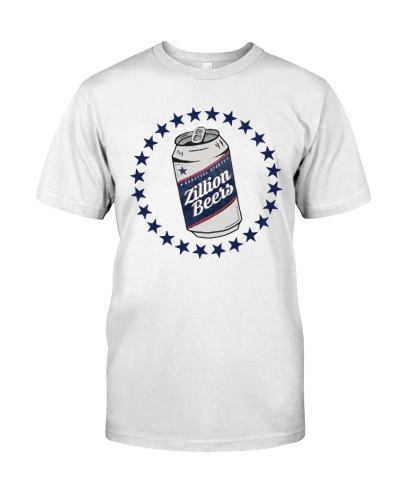 Zillion Beers Can T Shirt